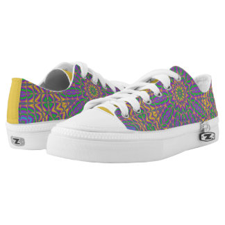 Vibrant Mandala 2 Low-Top Sneakers