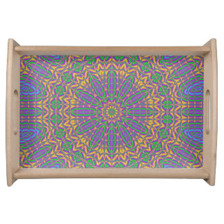 Vibrant Mandala 2 Serving Tray