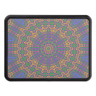 Vibrant Mandala 2 Trailer Hitch Cover