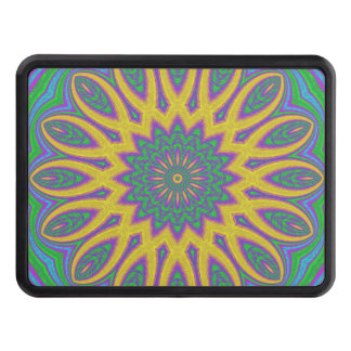 Vibrant Mandala Trailer Hitch Cover