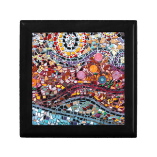Vibrant Mosaic Wall Art Gift Box