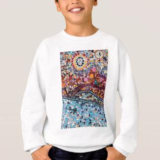 Vibrant Mosaic Wall Art Sweatshirt