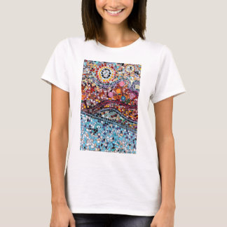 Vibrant Mosaic Wall Art T-Shirt