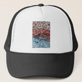 Vibrant Mosaic Wall Art Trucker Hat