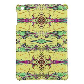 Vibrant Multi Colored Artistic Pattern Cover For The iPad Mini
