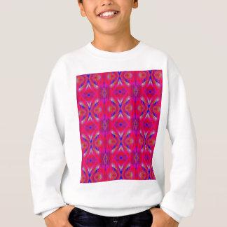Vibrant Neon Hot Pink Chic Pattern Sweatshirt