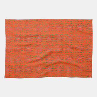 Vibrant Orange Kitchen Towel
