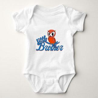 Vibrant Owl Little Brother Baby Bodysuit