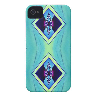 Vibrant Pastel Artistic Geometric Pattern iPhone 4 Case-Mate Case