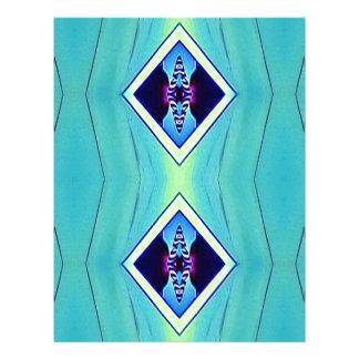Vibrant Pastel Artistic Geometric Pattern Letterhead