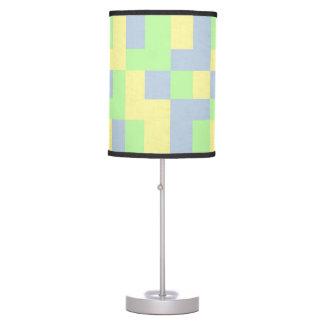 Vibrant Pastel Squares Lamp