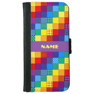 Vibrant Patchwork Custom Phone Case