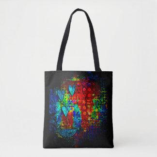 vibrant pendant hearts trendy bag
