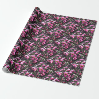 Vibrant Pink Cactus Flower Wrapping paper
