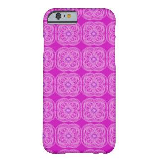Vibrant Pink case with a soft elegant flower desig