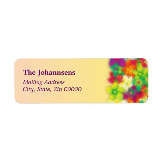 vibrant pua ~ mailing label