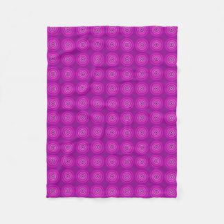 Vibrant purple blanket with lighter multi-tone pur