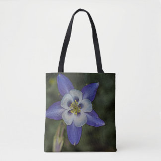 Vibrant Purple Morning Glory Tote Bag