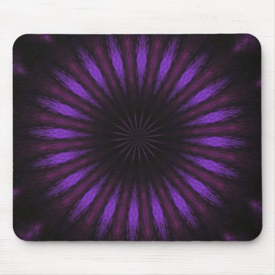 Vibrant Purple Mouse Pad