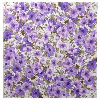 Vibrant Purple Napkin