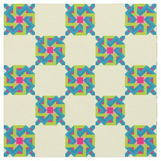 Vibrant Quilting Fabric