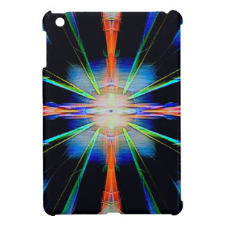 Vibrant Radiating Funky Pattern iPad Mini Cover