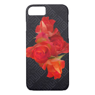 Vibrant roses on elegant background iPhone 8/7 case