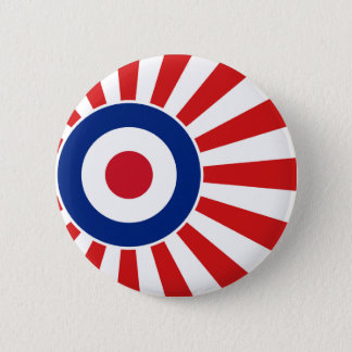 Vibrant Roundel Mods JAPAN Target Scooter 2 Inch Round Button