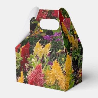 Vibrant Summer Flower Garden in Orlando Florida Favor Box