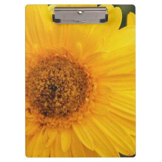 Vibrant Sunflower Clipboard