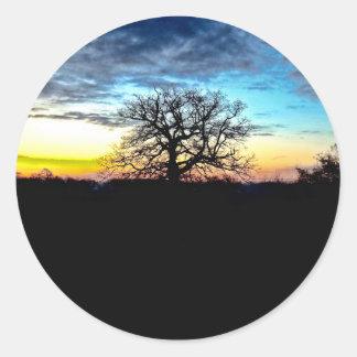 Vibrant Sunset Sticker