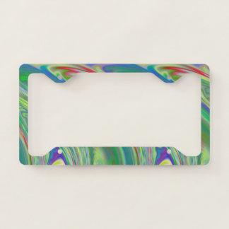 Vibrant Swells License Plate Frame