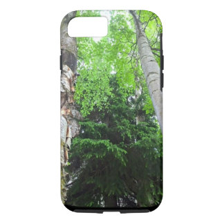 Vibrant Tall Trees phone case