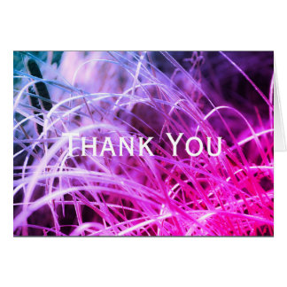 Vibrant Thank You Card