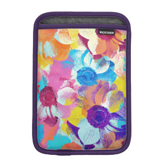 Vibrant Watercolor Painted Anemone Flower iPad Mini Sleeve