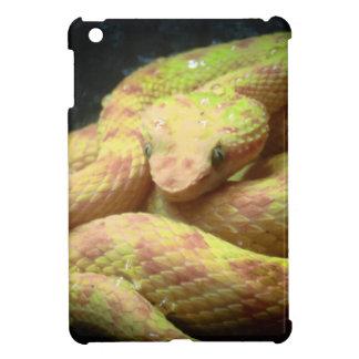 Vibrant Yellow Viper iPad Mini Covers