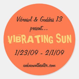 Vibrasol 1/23/09 - 2/1/09 classic round sticker