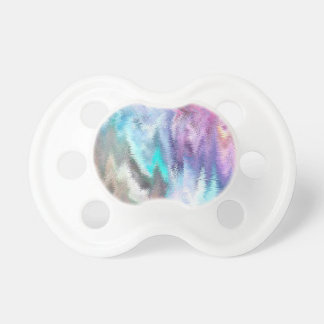 Vibrating Glitch Pastels Pacifier