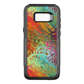 Vibrating Rainbow Pattern OtterBox Commuter Samsung Galaxy S8+ Case