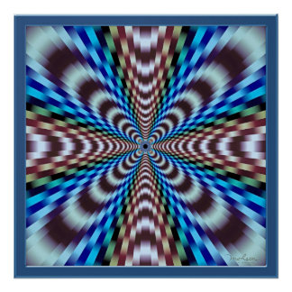 Vibration Illusion Poster