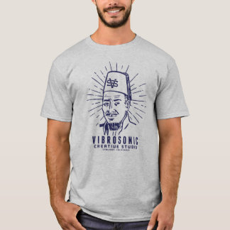 VIBROSONIC CREATIVE STUDIO - BLUE FEZ MAN T-Shirt