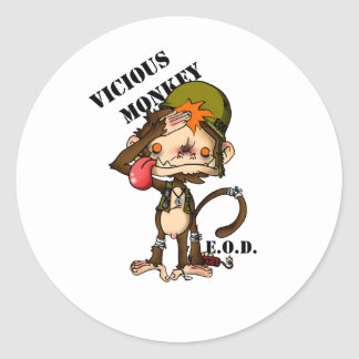 Vic Monk EOD Special Edition copy Round Sticker