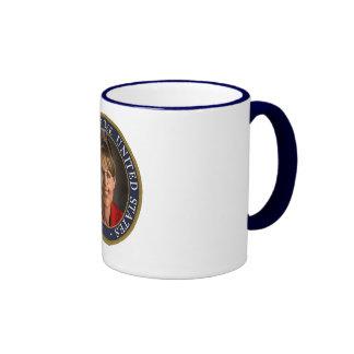 Vice President Sarah Palin Ringer Coffee Mug