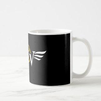 Vice & Virtue Coffee Wing Logo Coffee Mug