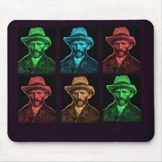 Vicent Van Gogh Collage Mouse Pad