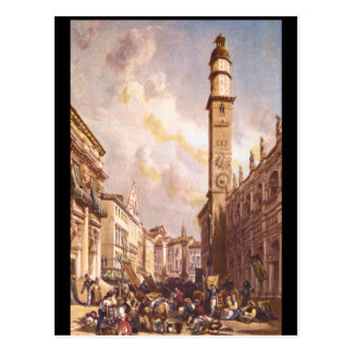 Vicenza', James Duffield Harding_Engravings Postcard