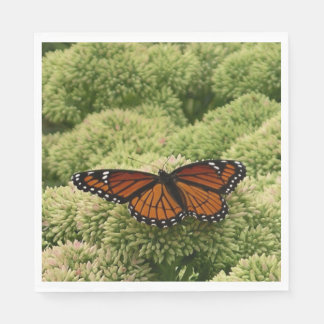 Viceroy Butterfly Beautiful Nature Photography Disposable Napkin