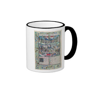 Vices and Virtues on Earth Ringer Coffee Mug