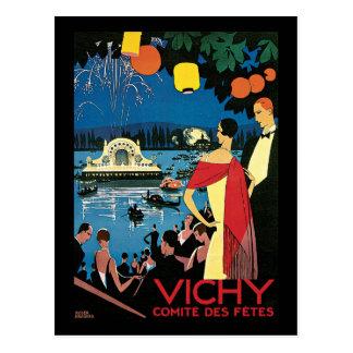 Vichy Comite Des Fetes Postcard