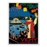 Vichy: Comite Des Fetes Print